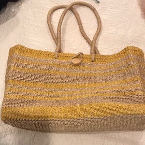 Pottery Barn Beach Bag. Oversized. Like new